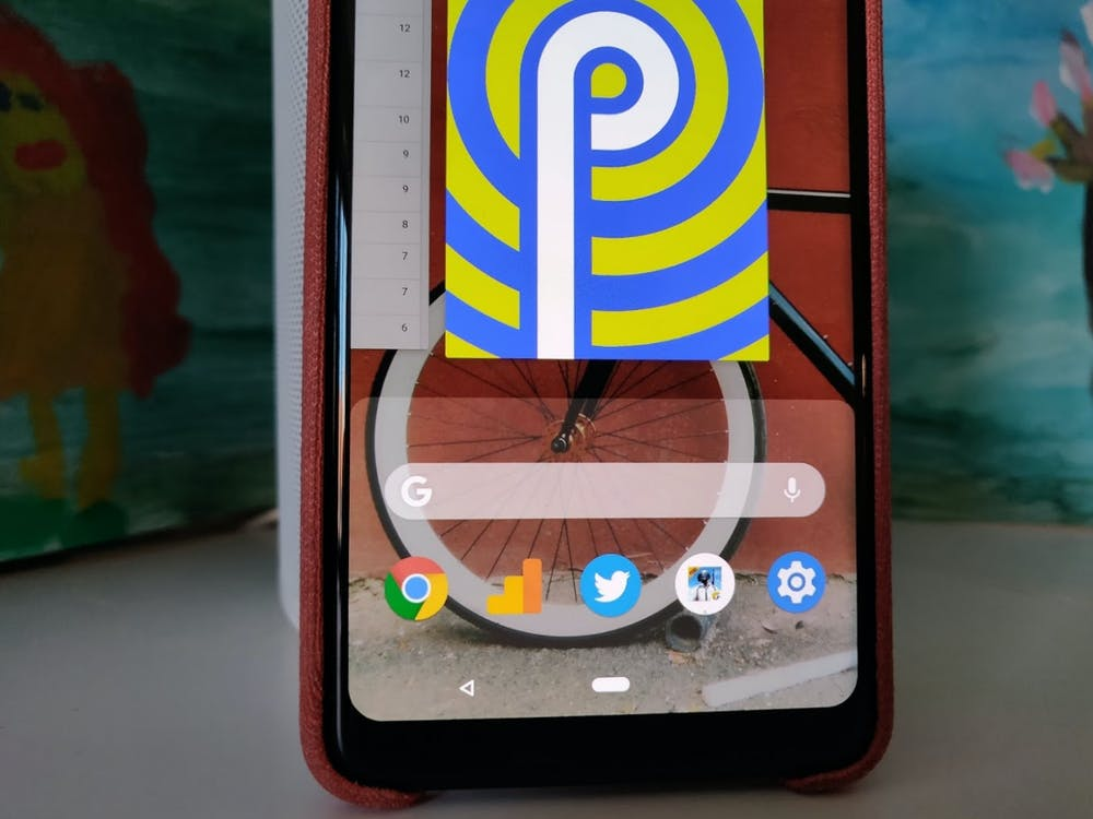 Der Android-Pie-Launcher mit seinen neuen Gesten. (Foto: t3n.de)