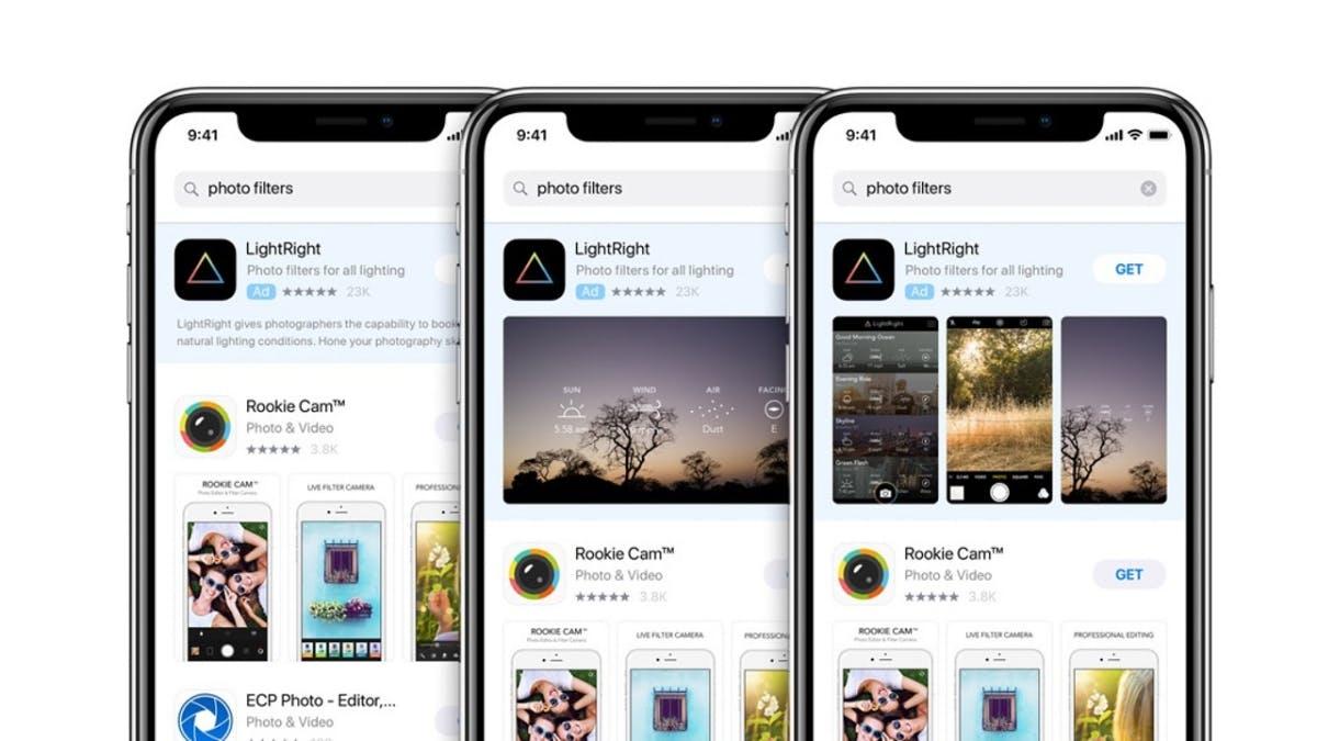 Apple plant Anzeigennetzwerk mit Snap und Pinterest