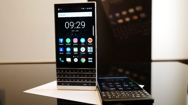 Blackberry Key 2: Business-Androide mit Qwertz-Keyboard