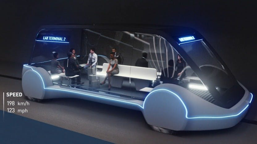 Boring Company – Elon Musk präsentiert autonomes E-Shuttle noch vor Weihnachten