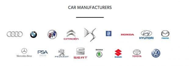 Viele Autohersteller wollen den Digital Key für ihre Autos haben. (Screenshot: Car Connectivity Consortium)