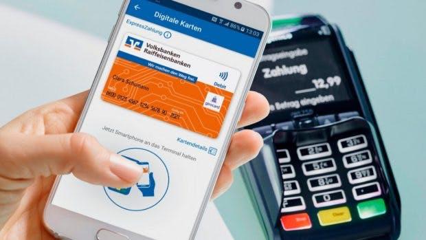 Mobile Payment per Girocard – Sparkassen und Volksbanken sind dabei. (Foto: www.bvr.de)