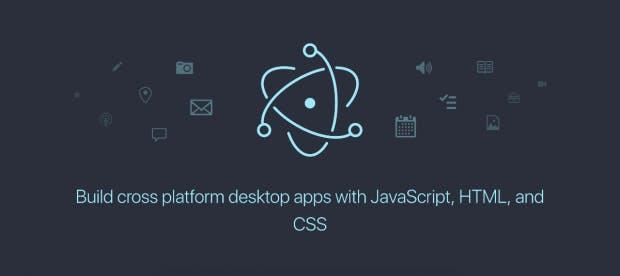 Desktop-Apps mit dem Electron-Framework. Auch große Anwendungen wie Slack setzen auf das Framework. (Screenshot: Electron/t3n.de)