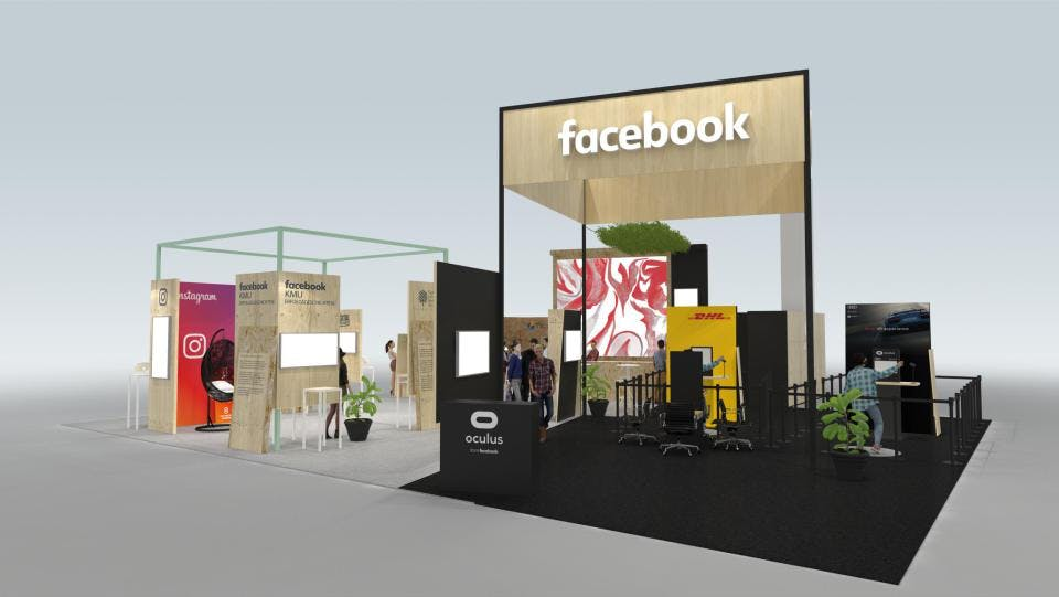 Gegen die Image-Krise: Facebook wagt sich auf die Cebit
