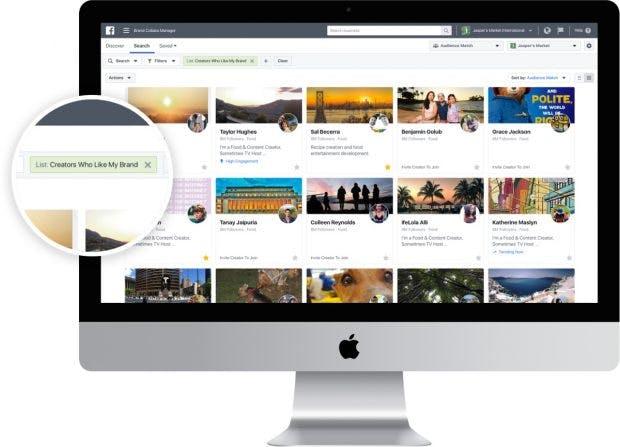 Brand Collabs Manager: Facebook unterstützt Videoersteller bei der Monetarisierung ihrer Inhalte. (Grafik: Facebook)