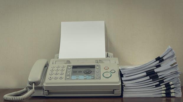 Stirbt das Fax endlich?