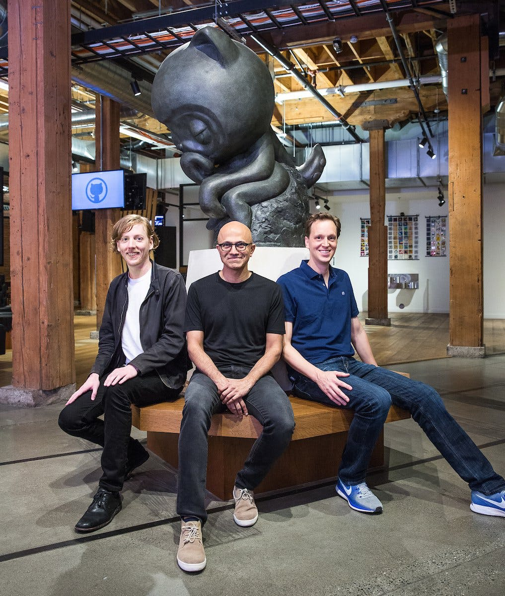 Offiziell: Microsoft übernimmt Github für 7,5 Milliarden Dollar