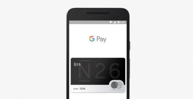 N26 bietet Google-Pay-Support bereits in zahlreichen europäischen Nachbarländern. (Screenshot: t3n.de)