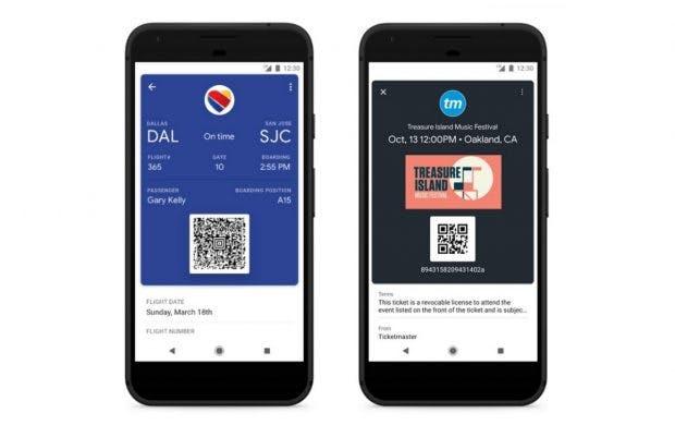 Google Pay unterstützt unter anderem Bordkarten von Eaysjet und Vueling. (Bild: Google)