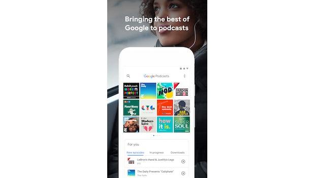 Google-Podcast-App. (Bild: Google)