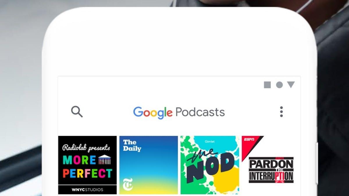 Google stellt eigene Podcast-App vor