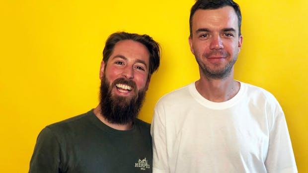 Podcast-Bros! Diese zwei Gründer verraten, wie sie gut drauf bleiben