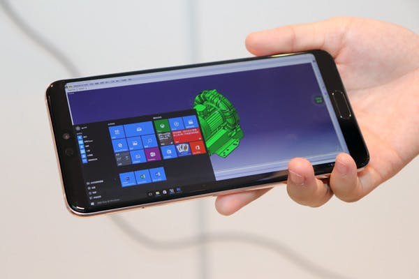 Windows 10 per Huawei Cloud PC auf dem P20 Pro. (Foto: Notebookitalia)