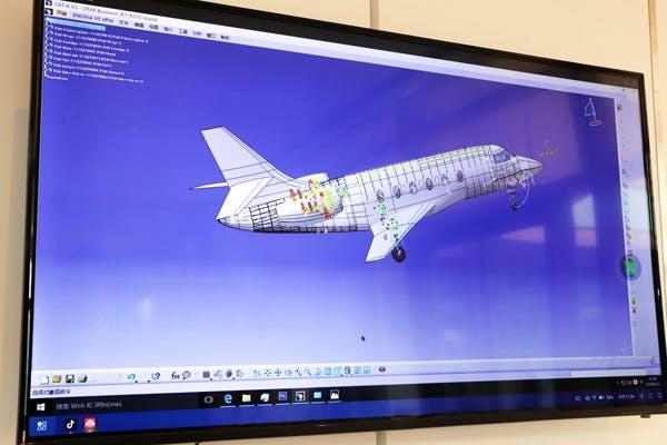 Mithilfe der Cloud-PC-App und Windows 10 lassen sich sogar CAD-Anwendungen auf Smartphones ausführen. (Foto: Notebookitalia)