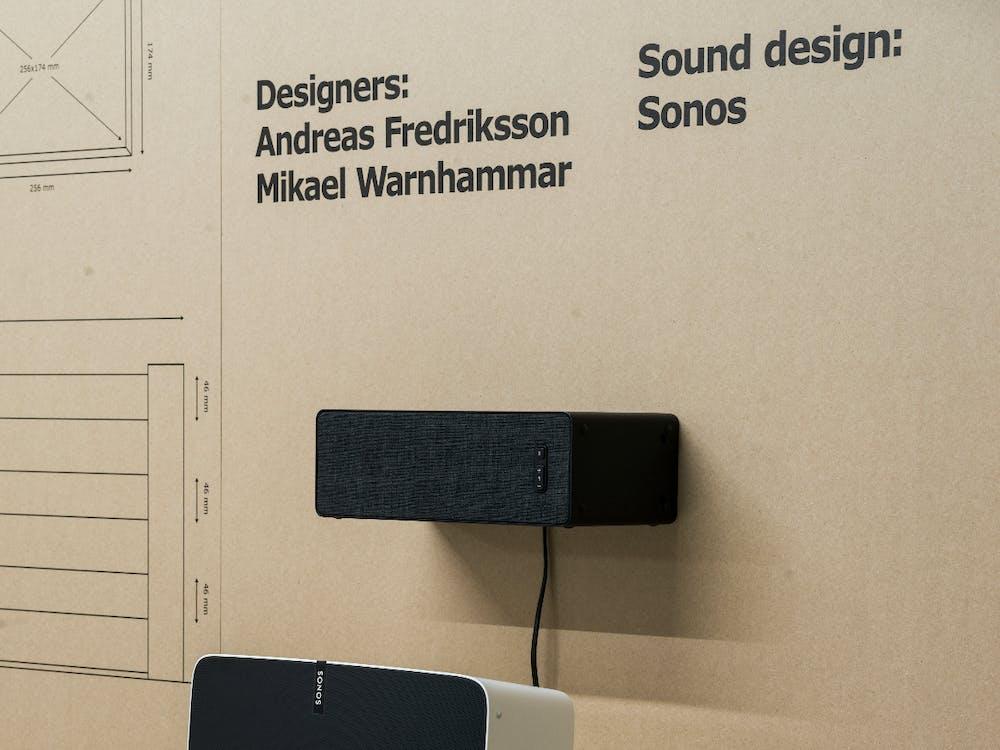 Symfonisk: Der erste WLAN-Lautsprecher (Prototyp) aus der Ikea-Sonos-Kollaboration. (Foto: Ikea)