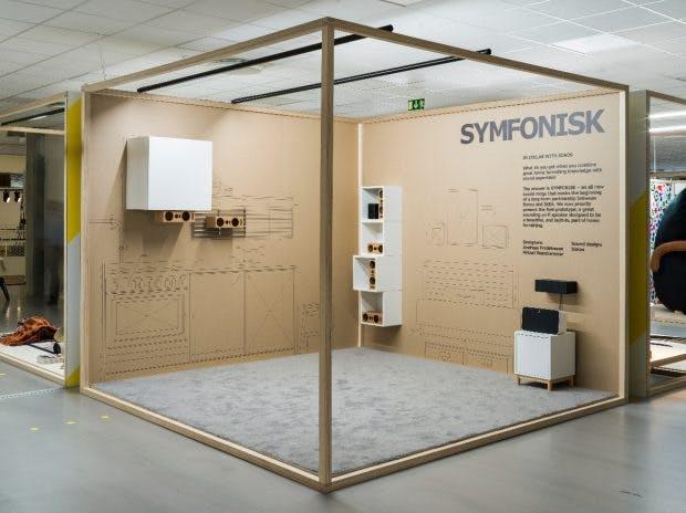 Ikea Symfonisk-WLAN-Speaker. (Foto: Ikea)