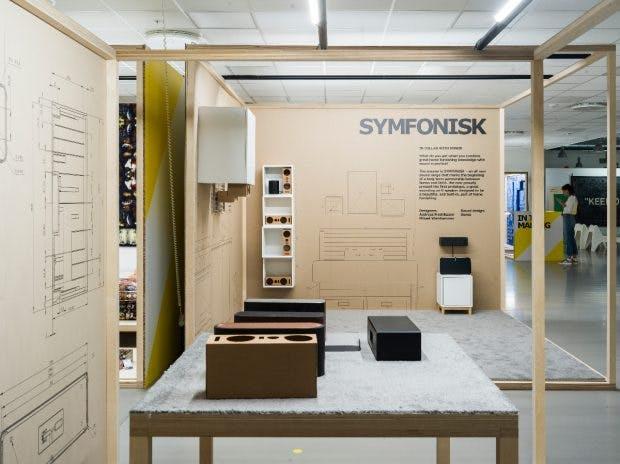 Symfonisk: The first WLAN speaker (prototype) from Ikea Sonos Collaboration. (Photo: Ikea)