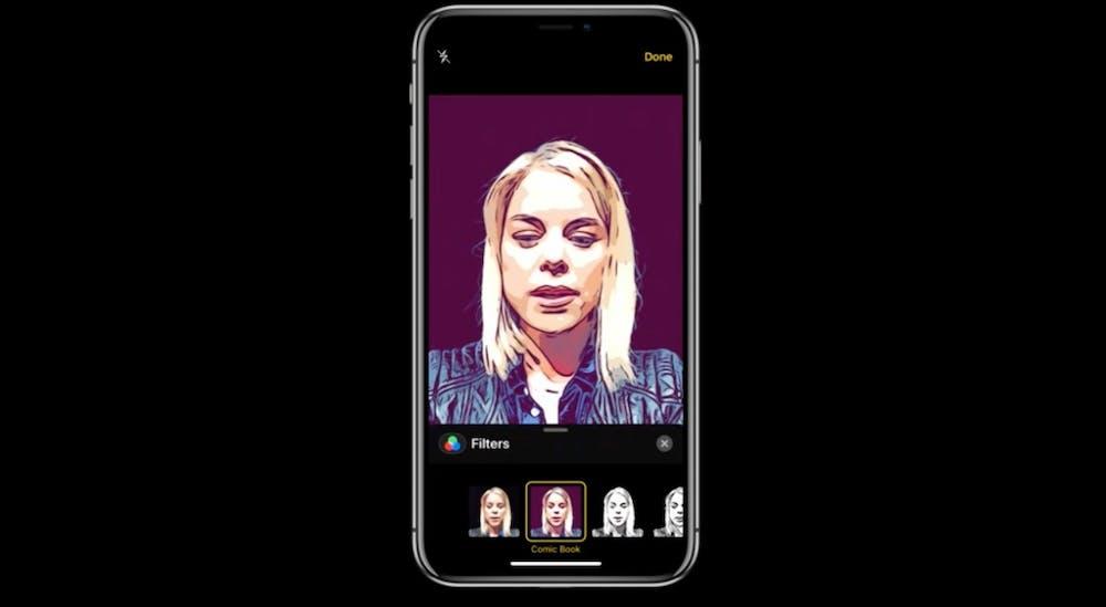 Mit iOS 12 gibt es auch neue Filter. (Screenshot: t3n.de)