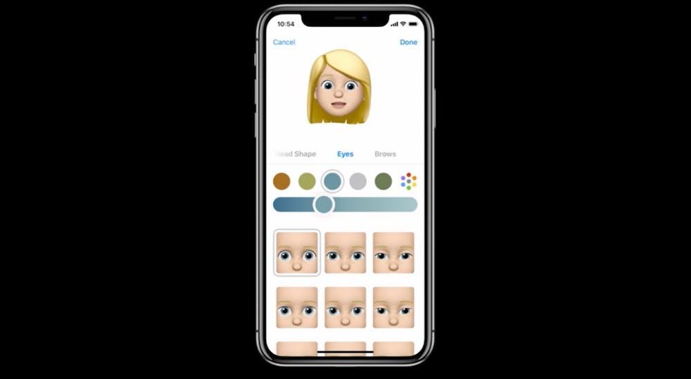 Memoji in iOS 12. (Screenshot: t3n.de)