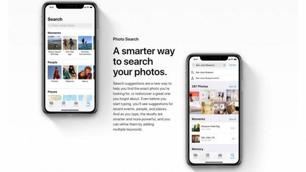 In iOS 12 wird die Fotosuche in der Foto-App weiter aufgebohrt. (Screenshot: Apple)
