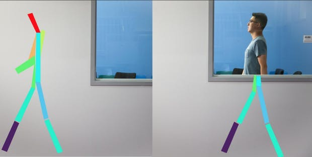 """KI kann Menschen durch Wände hindurch """"sehen"""""""