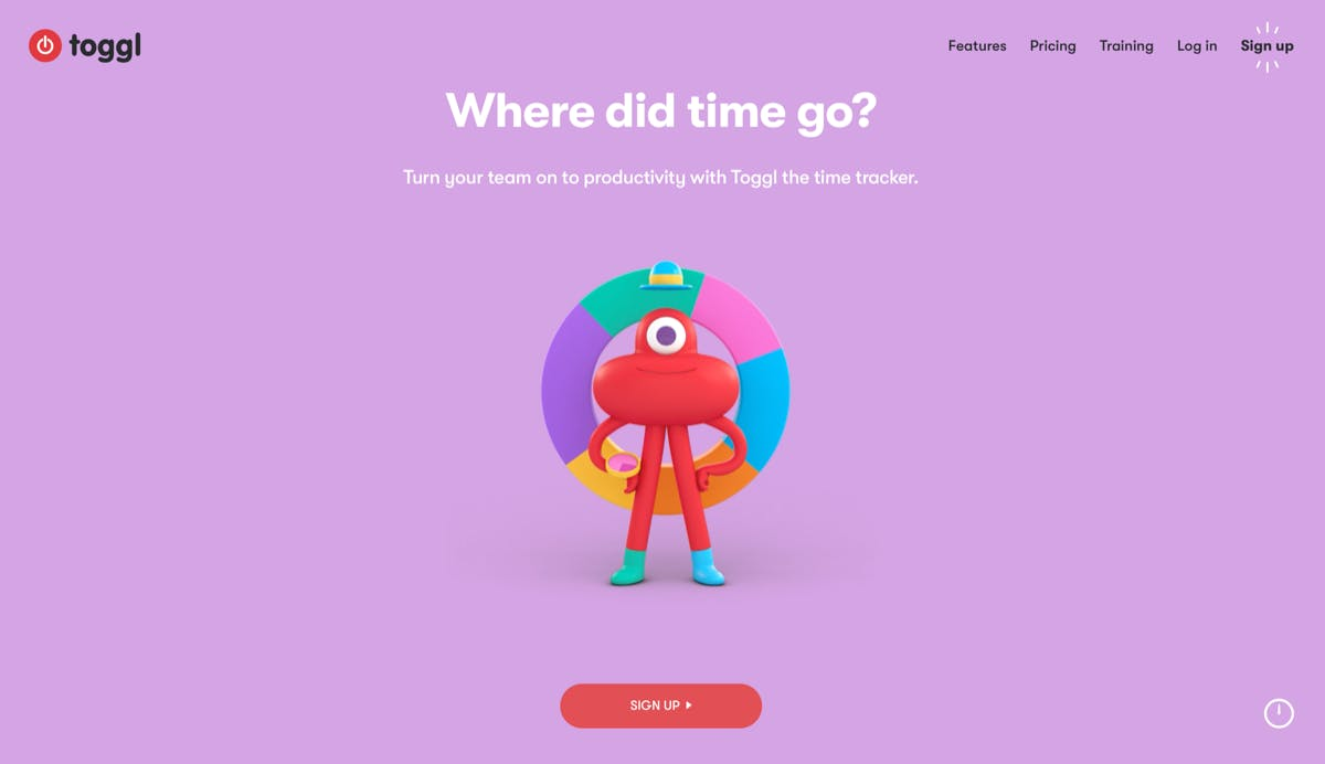 Toggl ist ein Zeitracking-Anbieter für Freelancer. (Screenshot: t3n.de)