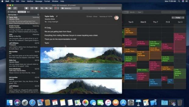 macOS Mojave bringt einen Dark Mode mit. (Screenshot: apple.com)