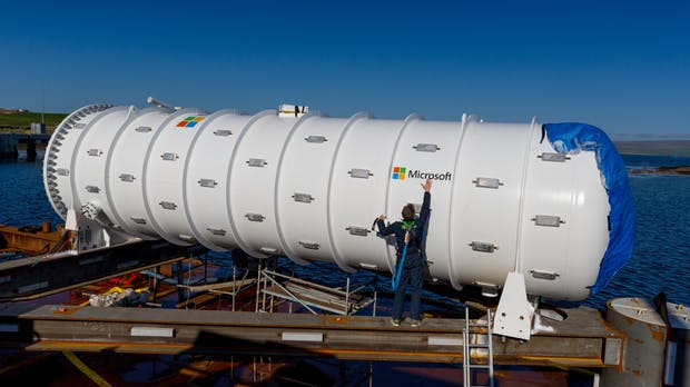 Die Cloud auf Tauchstation: Warum Microsoft ein Rechenzentrum im Meer versenkt
