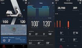 Niu: Über die Smartphone-App lässt sich der Elektroroller orten und mehr. (Screenshot: Niu)