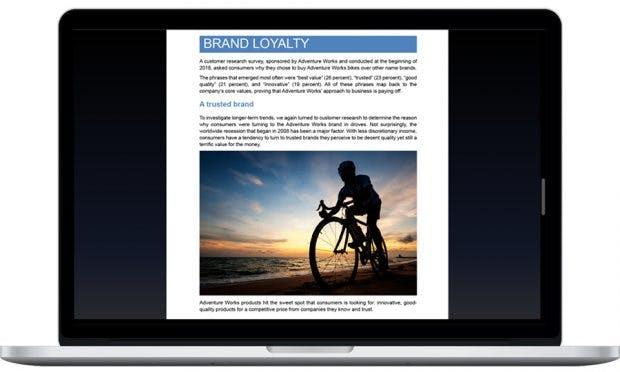Office 2019 for Mac: Word bekommt einen Modus zum ablenkungsfreien Schreiben. (Grafik: Microsoft)