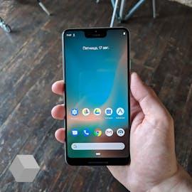 Das Pixel 3 XL – beim Gerät handelt es sich noch um einen Prototypen. (Foto: Rozetked)