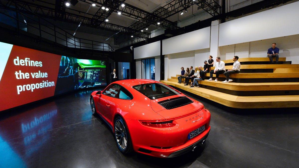Mehr Digital wagen: Update für Porsche-Standort in Ludwigsburg