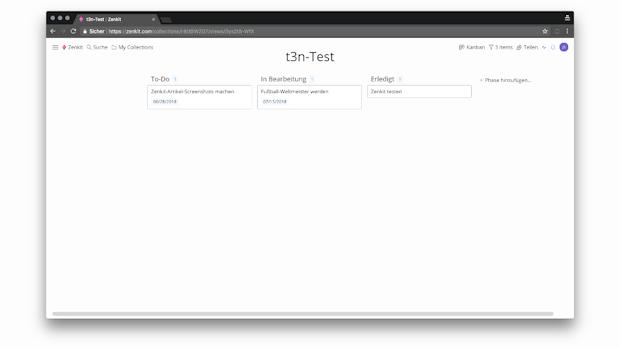 Zenkit: Beliebtes Projektmanagement-Tool kann jetzt auch Deutsch
