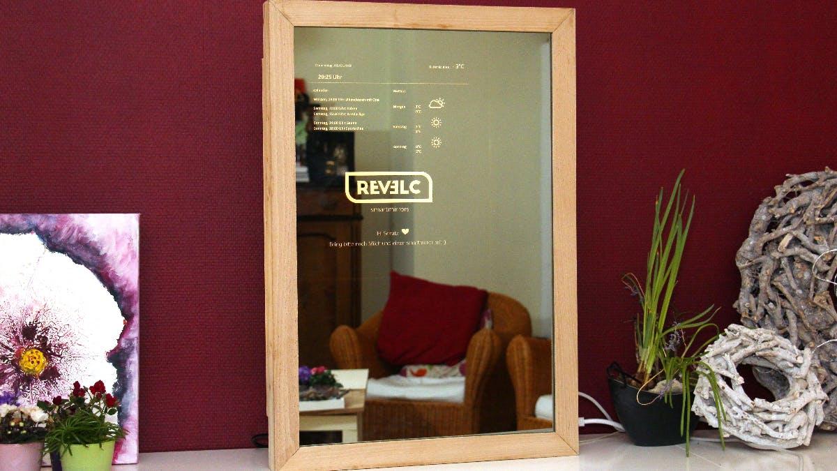 Nicht von Apple: Diesen Smart Mirror haben Schüler aus Deutschland gebaut