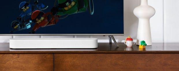 Sonos Beam in weiß. (Foto: Sonos)