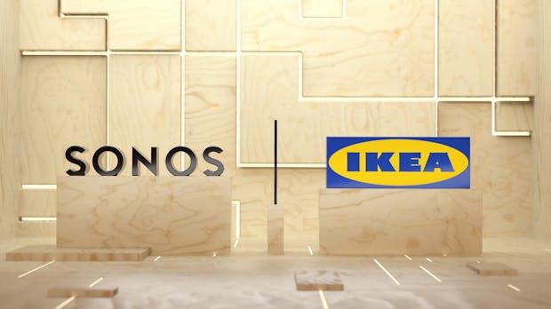 Ikea und Sonos zeigen ersten WLAN-Lautsprecher der neuen Symfonisk-Serie
