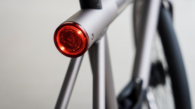 Eine Laserkanone auf zwei Rädern: Das Vanmoof Electrified S im Test