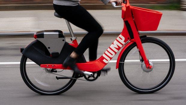 Uber bringt seine Jump-E-Bikes nach Berlin. (Foto: Jump)