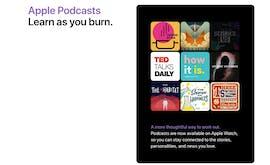 Neu in watchOS 5: Podcasts könnt ihr künftig auch ohne iPhone abspielen. (Screenshot: Apple)