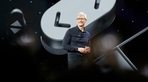 Apple toppt Erwartungen und kratzt an Billionen-Bewertung