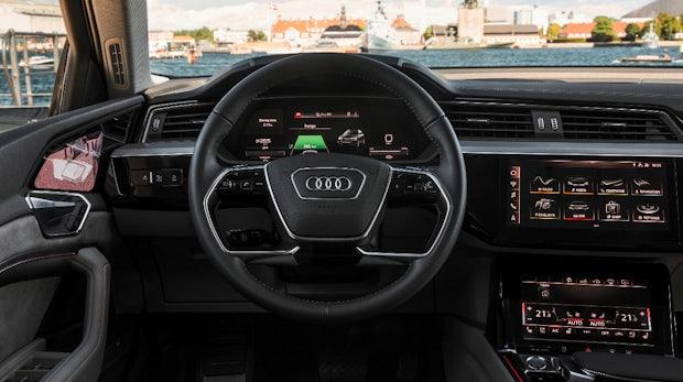 Audi E-Tron: Erster Blick ins Innere des Elektro-SUV | t3n – digital ...