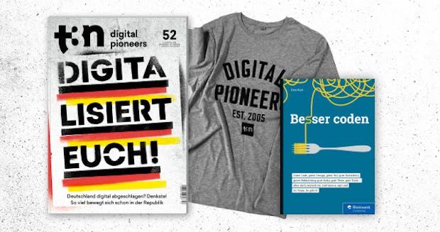 """Nur 30x: """"Besser coden"""" von Rheinwerk gratis zum t3n Abo!"""