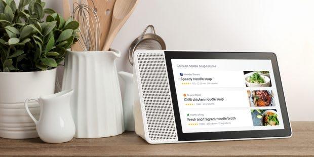 Lenovo hat das erste Smart-Display auf Google-Assistant-Basis vorgestellt. (Foto: Lenovo)