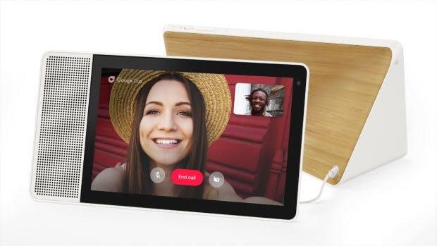Videotelefonie wird per Google Duo realisiert.(Foto: Lenovo)
