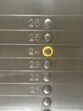 Aufzug, 24. Stock