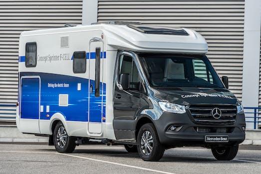 Brennstoffzelle und Elektroantrieb: Mercedes-Benz zeigt neuen Sprinter