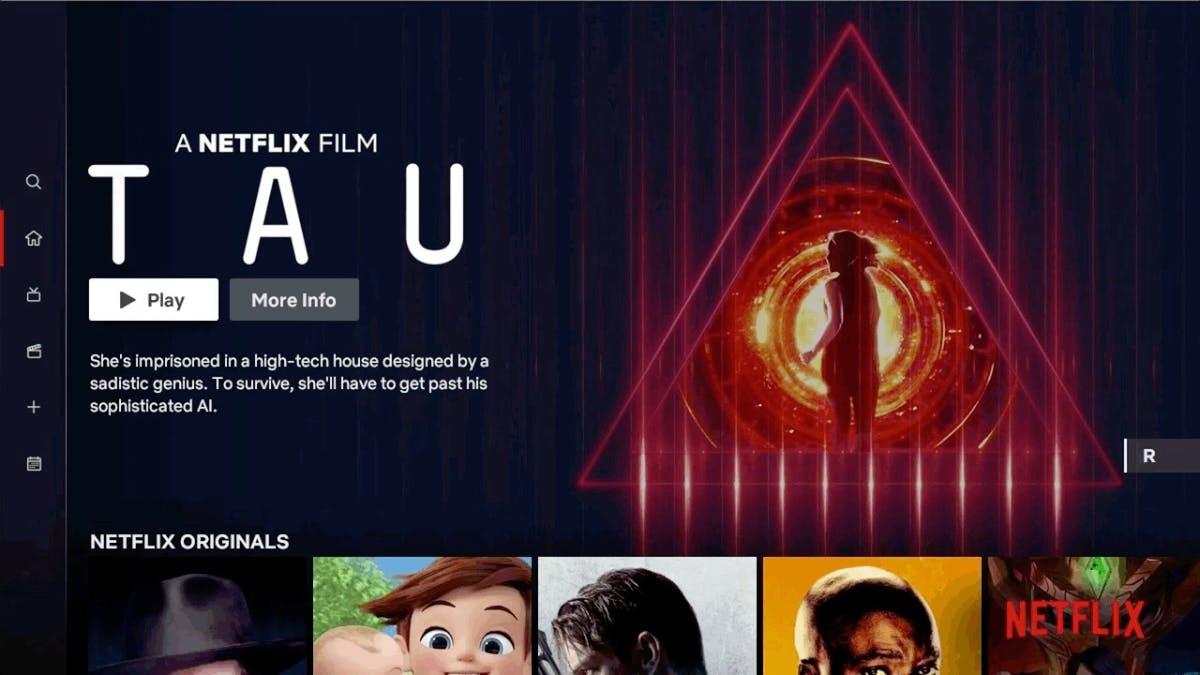 Neue Oberfläche: Netflix überarbeitet sein TV-Design