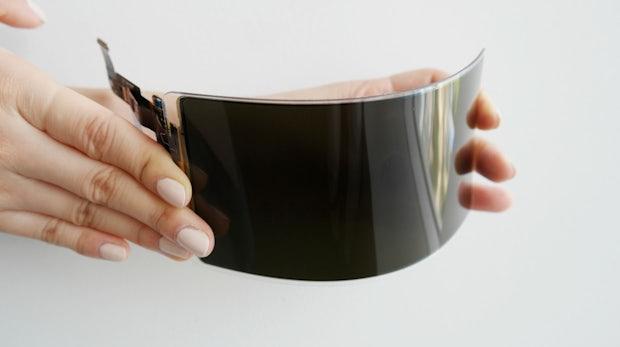 """OLED-Panel im Härtetest: Samsung präsentiert """"unzerstörbares Display"""""""
