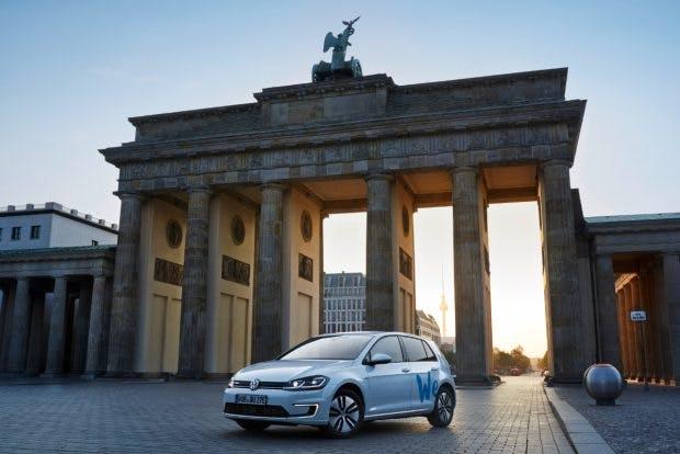 VW We Share. (Foto: Volkswagen)