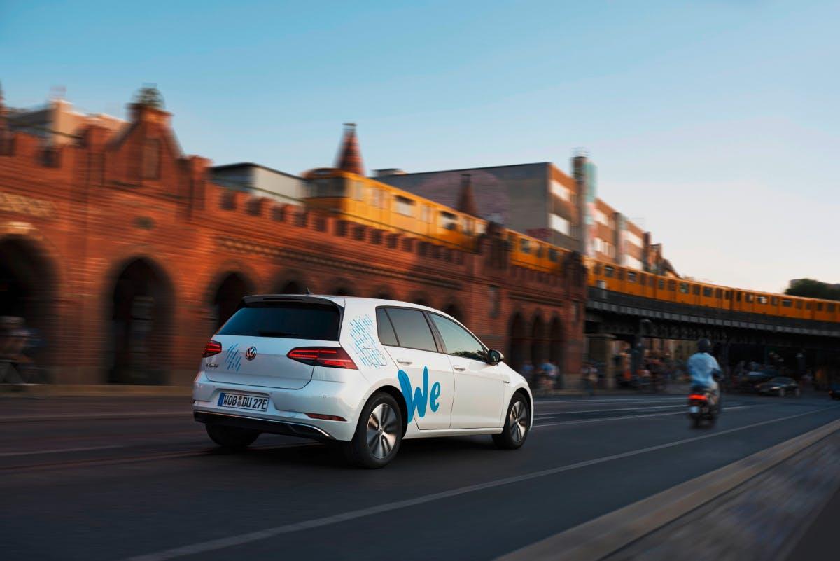 We Share: VW startet Testphase für E-Carsharing-Dienst in Berlin